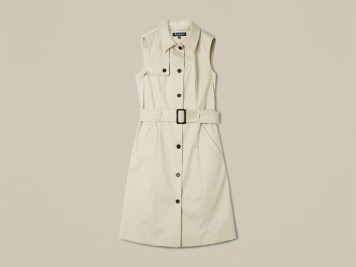 Doris Trench Dress, Aquascutum, £220 - a perfect work dress modelled on the classic trench coat