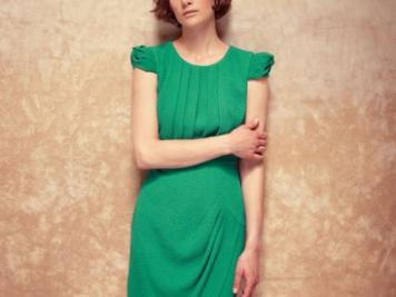 Bordeaux cap sleeved dress, Fever London, £69.99 - a stunning alternative to a little black dress.