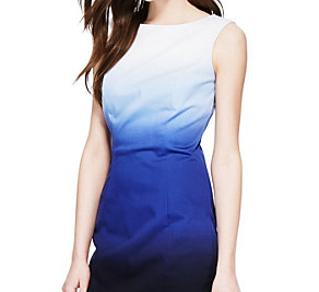 Ombre Shift Dress, Marks & Spencer, £49.50 - an easy to wear cotton dress that will take you from the office to the bar.