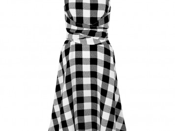 Twitchell Check Dress, Hobbs, £129 - features an ultra flattering full skirt and wrapped waist.